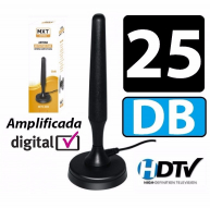 Antena Interna Amplificada 25dB para TV Digital MDTV400B MXT